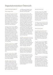 Degustationsnotizen Österreich als PDF-Download