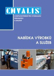 Katalog sluzeb - CHVALIS sro
