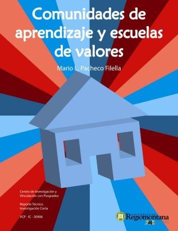 Comunidades de Aprendizaje y Escuelas de Valores - Universidad ...