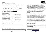 INDIVIDUAL questionnaire