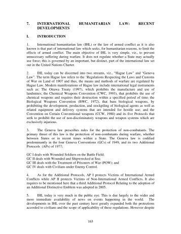 7. international humanitarian law - Asian-African Legal Consultative ...