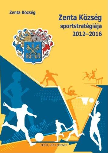 Zenta község sportstratégiája 2012-2016