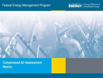 Compressed Air Assessment Basics - EERE