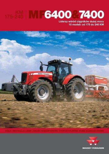 Prospekt, folder - Maszyny rolnicze