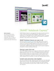 SMART Notebook Express™ - SMART Technologies Inc.