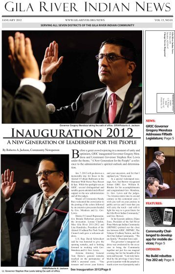 January 2012 Gila River Indian Newspaper