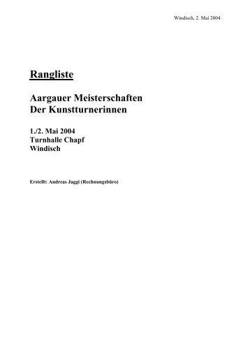Windisch - KUTU - Obersiggenthal