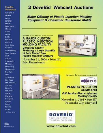 2 DoveBid Webcast Auctions
