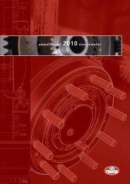 annual report 2010 éves jelentés - RÁBA Járműipari Holding Nyrt.