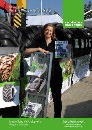 Nokian Heavytyres Produkte & Preise 2013 - ForesTree Austria. A ...