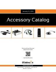Accessory Catalog - EFJohnson