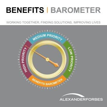 employee benefits - Alexander Forbes