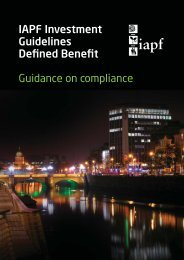 Investment Guidelines 16pp A5.ART:1 - Irish Association of Pension ...