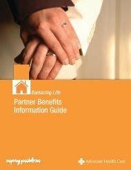 Partner Information Guide - Advocate Benefits - Advocate Health Care