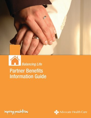 Partner Information Guide - Advocate Benefits - Advocate Health Care