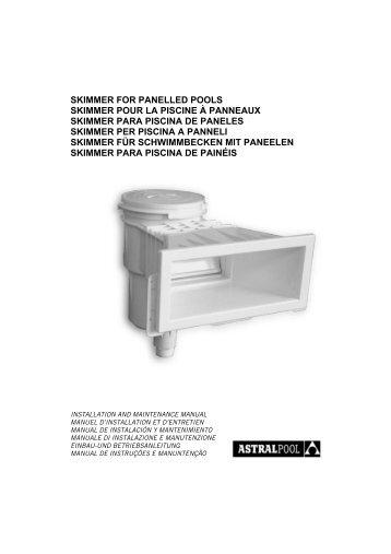 Jet vag pi ce sceller pour piscine beton panneau et for Skimmer pour piscine