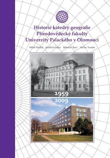 Publikace v PDF - Katedra geografie - Univerzita Palackého v ...