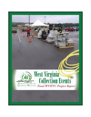 Outline for Final WVHTC Project Report - ElectronicsRecycling.Org