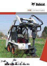 S100 | Compact Loaders - Bobcat.eu