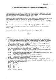 Aanwijzingsbesluit Voordelta - Maasvlakte 2