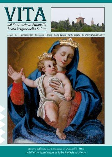 RIVISTA 1 (gennaio 2007) - Santuario di Puianello