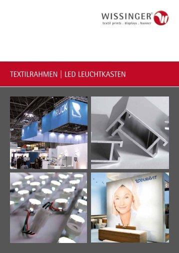 TEXTILRAHMEN | LED LEUCHTKASTEN