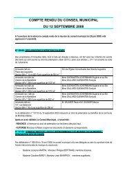 compte rendu du 12 septembre 2008 - Montreuil-Bellay