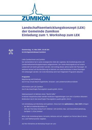 LEK - Gemeinde Zumikon
