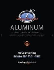 november 4-6, 2012 - Metals Service Center Institute