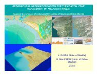 GEOGRAPHICAL INFORMATION SYSTEM FOR THE COASTAL ...