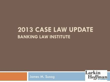 Cases on banking law