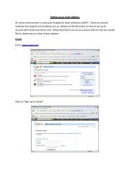 Setting up an email address: An active email account is necessary to ...