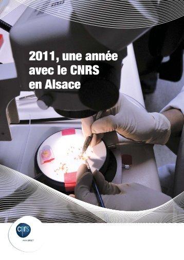 2011, une année avec le CNRS en Alsace - CNRS Alsace