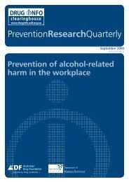 Full report [PDF: 884KB](new window) - DrugInfo - Australian Drug ...