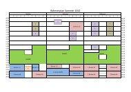 Rahmenplan Sommer 2012 - Tennisclub Wedel