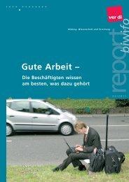 biwifo report 2/2011 - ver.di: Bildung, Wissenschaft und Forschung