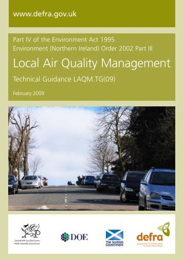 Local Air Quality Management -Technical ... - ARCHIVE: Defra