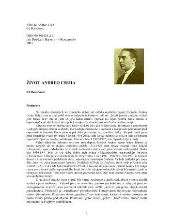 Vivo de Andreo Cseh - Esperanto