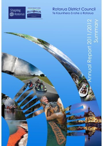 Annual Report year ended June 2012 - Rotorua District Council