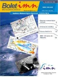 Comentario meteorológico de Abril de 2008 - Instituto Meteorológico ...