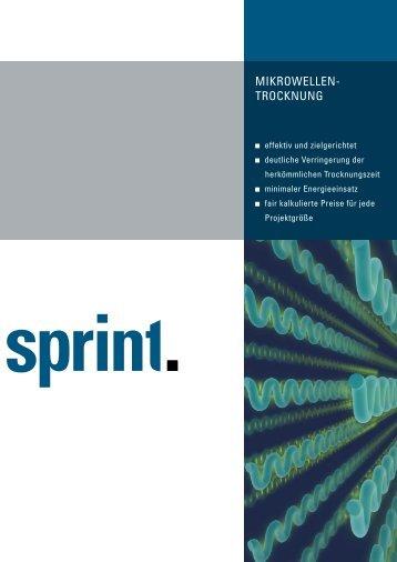 Mikrowellen- trocknung - Sprint Sanierung GmbH