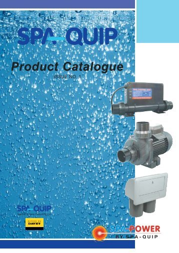 Product Catalogue - Spa-Quip