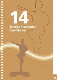 14 Exercise Prescription Case Studies