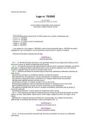 Lege Nr. 76 / 2002 privind sistemul asigurarilor pentru somaj si ...
