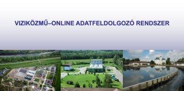Víziközmű online rendszer