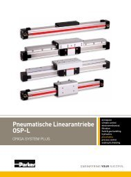 Pneumatische Linearantriebe OSP-L