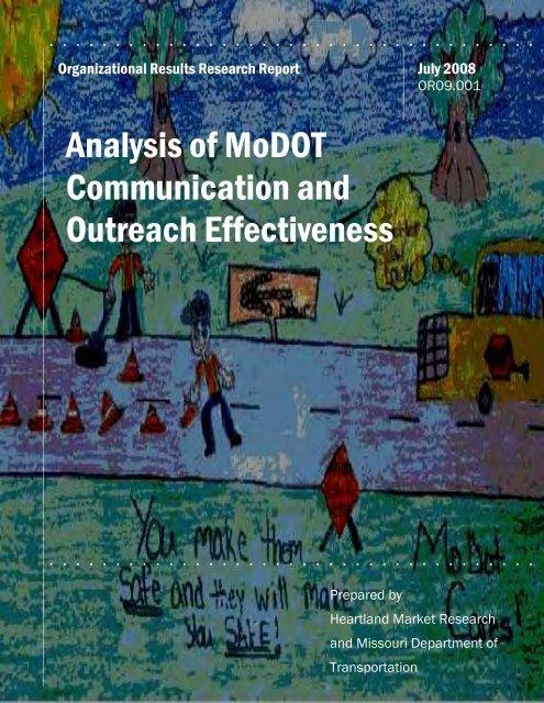 MoDOT Communication Research Report