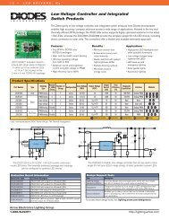 Low-Voltage Controller and Integrated Switch ... - Arrow Electronics