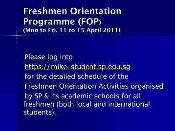 freshmen orientation program Freshman orientation information bearkat bound freshman orientation is here to start you on your journey.