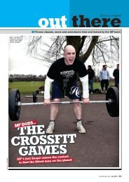Fitness classes, races and adventures tried and tested - CrossFit
